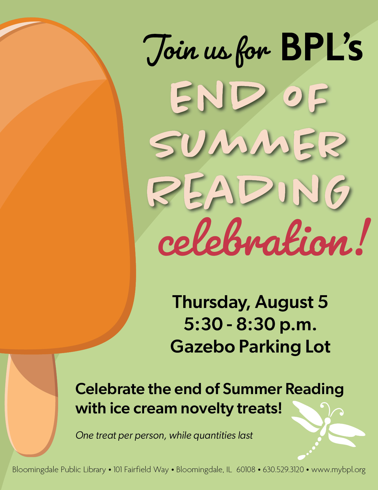 End of Summer Reading Celebration